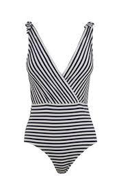 metallic stripe bikini