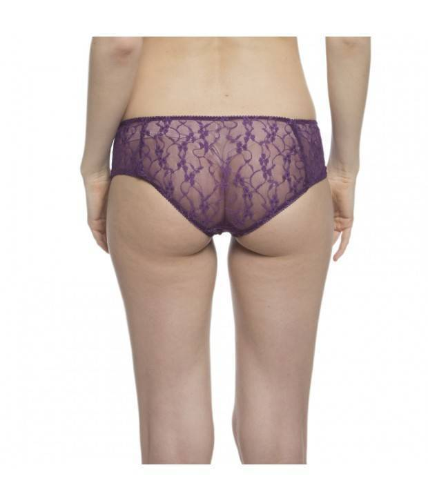 Hannahdoss Lace Bikini In Purple-CP73
